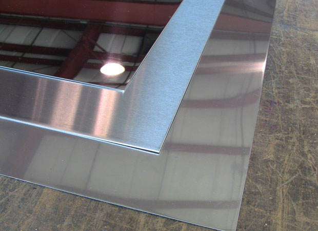 800 Grit Mirror Finish Stainless Steel Sheet