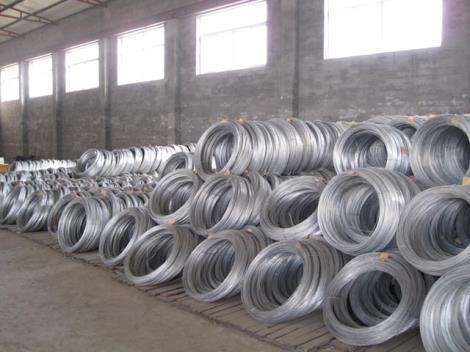 Galvanized steel wire supply